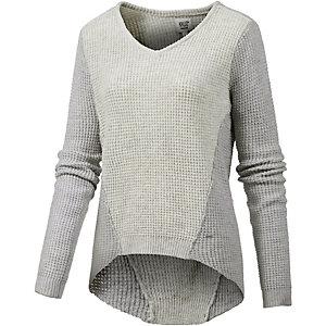 Khujo V-Pullover Damen grau