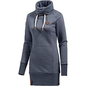Naketano Salami Jones III Sweatshirt Damen blau melange