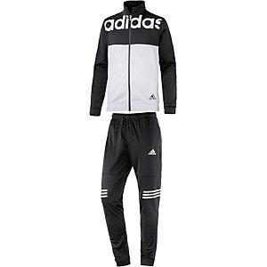 adidas TS BTS Trainingsanzug Herren schwarz/weiß
