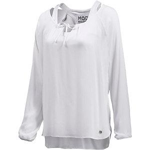 M.O.D 2-in-1 Langarmshirt Damen weiß