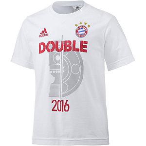 adidas FC Bayern Fanshirt Kinder weiß
