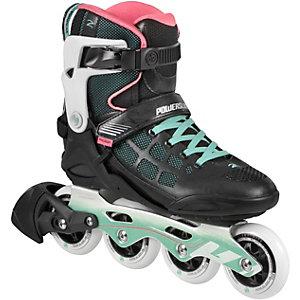 POWERSLIDE Epsilon Fitness Skates Damen schwarz/mint/rosa