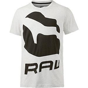 G-Star T-Shirt Herren weiß/schwarz