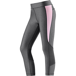 Under Armour Heatgear Tights Damen grau/rosa