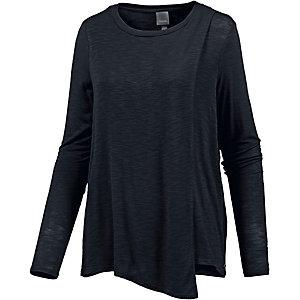 Bench Langarmshirt Damen schwarz