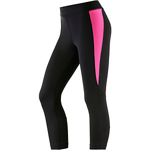 Under Armour Heatgear Tights Damen anthrazit/rot