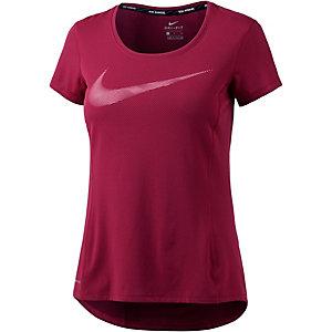 Nike Dri-Fit Contour Laufshirt Damen rot
