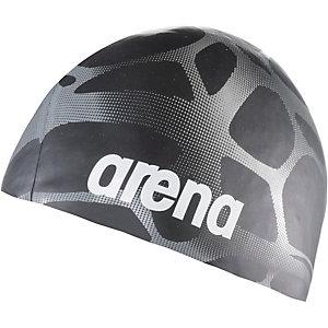 Arena Print Badekappe schwarz