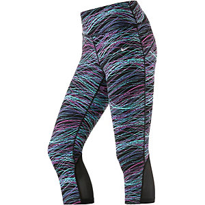 Nike Power Epic Lux Lauftights Damen schwarz/pink/türkis