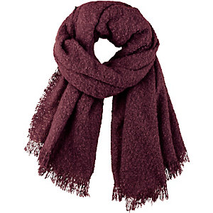 Ichi Schal Damen bordeaux
