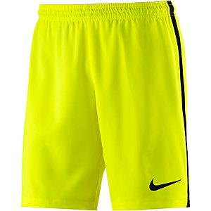 Nike Squad Fußballshorts Herren gelb/schwarz