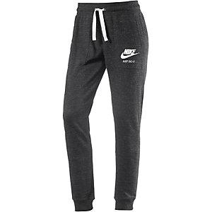 Nike Gym Vintage Sweathose Damen schwarz