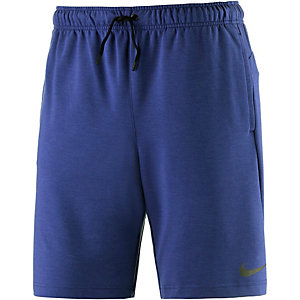 "Nike DF Training Fleece 8"" Funktionsshorts Herren blau"