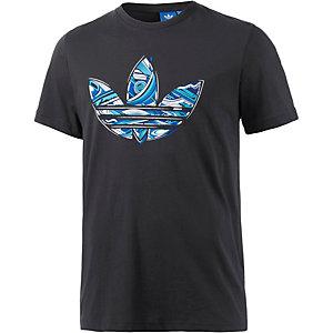 adidas Printshirt Herren schwarz