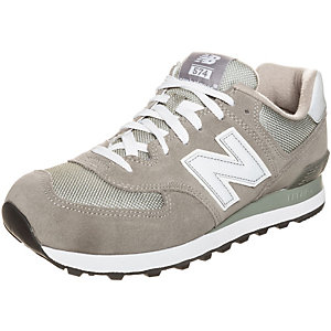 NEW BALANCE M574-GS-D Sneaker grau / weiß