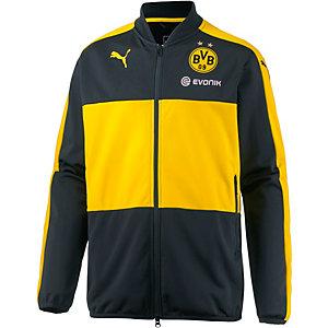 PUMA Borussia Dortmund Trainingsjacke Herren schwarz/gelb