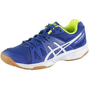 ASICS Gel Upcourt Hallenschuhe Kinder blau