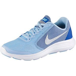 Nike Revolution3 Laufschuhe Mädchen hellblau