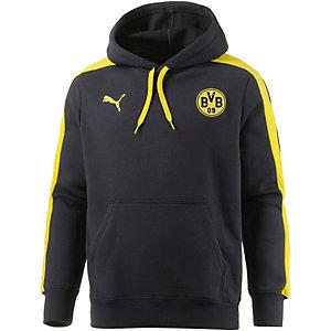 PUMA Borussia Dortmund Hoodie Herren schwarz/gelb