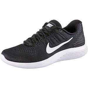 Nike Lunarglide 8 Laufschuhe Herren schwarz/weiß