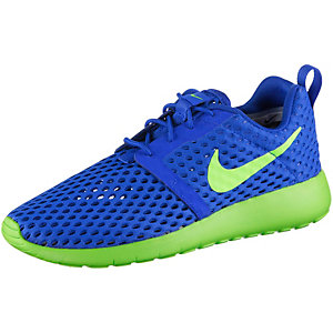 Nike Roshe One Flight Weight Sneaker Jungen blau/grün