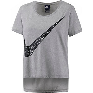 Nike T-Shirt Damen grau/melange