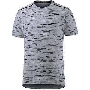Nike Dri-Fit Tailwind Laufshirt Herren grau