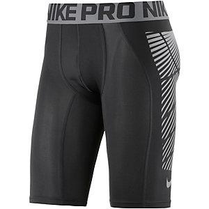 Nike Slider Fußballshorts Herren schwar/silber