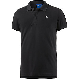 adidas Poloshirt Herren schwarz