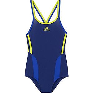 Adidas Badeanzug Mädchen dunkelblau/gelb im Online Shop von