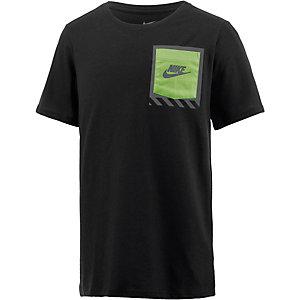 Nike T-Shirt Jungen schwarz