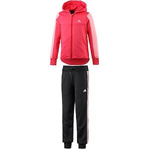 adidas Trainingsanzug Mädchen rosa/schwarz