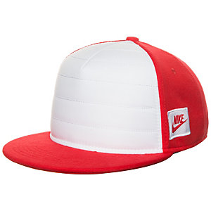 Nike Fleece True Cap Kinder rot / weiß