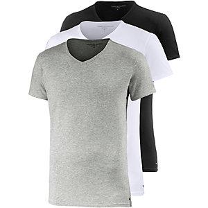Tommy Hilfiger V-Shirt Herren schwarz/weiß/grau