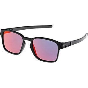 Oakley Latch Squared Sonnenbrille matte black, torch iridium