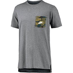 Nike T-Shirt Herren graumelange