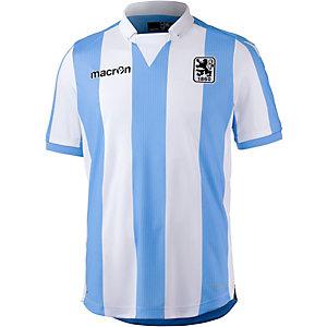 macron TSV 1860 München 16/17 Heim Fußballtrikot Herren blau/weiß