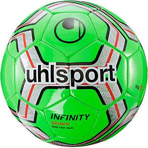 Uhlsport Lite Soft Fußball rot/silber/weiß