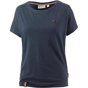 Naketano Schnella Baustella T-Shirt Damen dunkelblau
