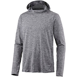 Nike Dri-Fit Element Laufhoodie Herren grau