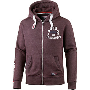 Superdry Sweatjacke Herren bordeaux