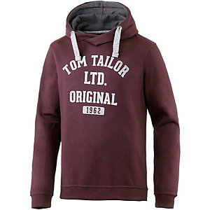 TOM TAILOR Sweatshirt Herren bordeaux