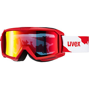 Uvex flizz LM Skibrille Kinder rot/weiß
