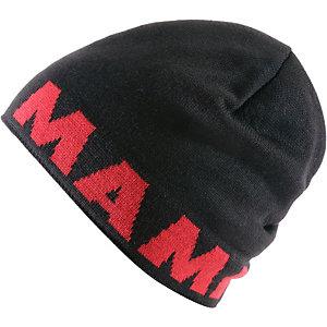 Mammut Logo Beanie schwarz