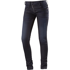 G-Star Lynn Zip Skinny Skinny Fit Jeans Damen dark denim