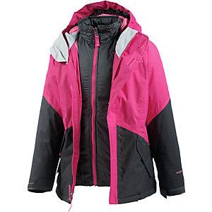 The North Face Doppeljacke Mädchen pink/schwarz