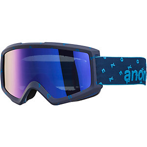 Anon Helix With Spare Snowboardbrille blau