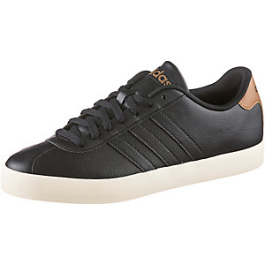 adidas VL Court Vulc Sneaker Herren schwarz