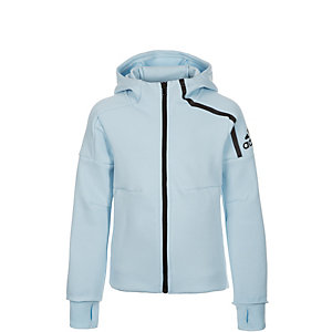 adidas Z.N.E. Athletics Trainingsjacke Kinder hellblau / schwarz