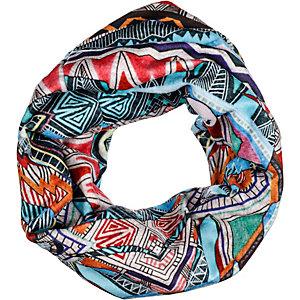H.A.D. Printed Fleece Tube Bandana bunt